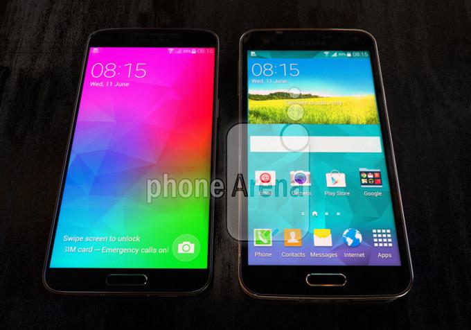 Samsung Galaxy F vs. Samsung Galaxy S5