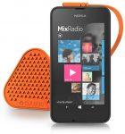 Nokia Lumia 530 with Coloud Speaker