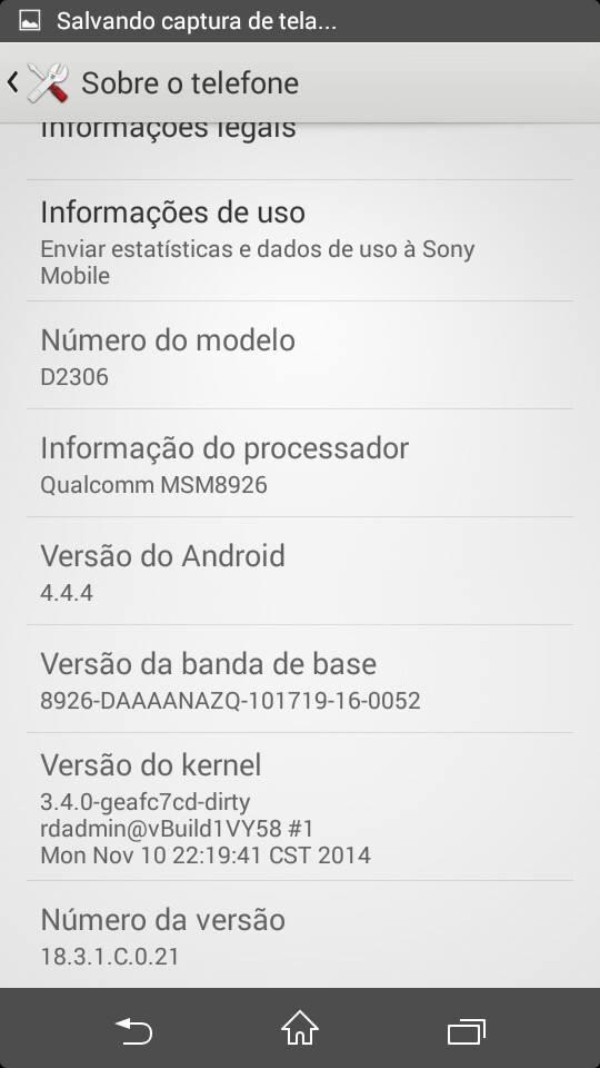 18.3.1.C.0.21 Update Xperia M2