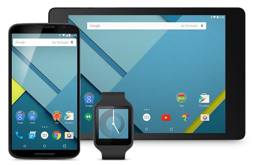 Android 5.0 Lollipop Nexus 7