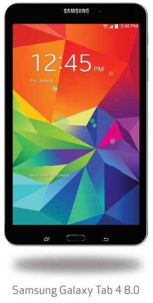 Android 4.4.4 Galaxy Tab 4 8.0