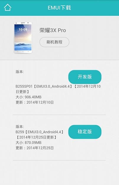 Honor 3X B259 EMUI 3.0