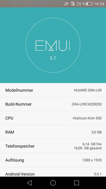 B200 Huawei P8