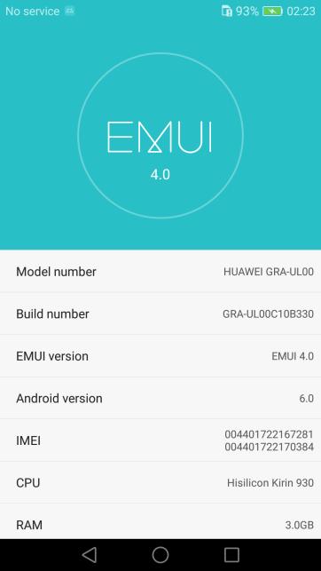 Huawei P8 B330 Marshmallow