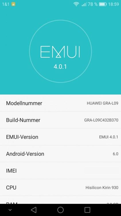 Huawei P8 B370 Marshmallow