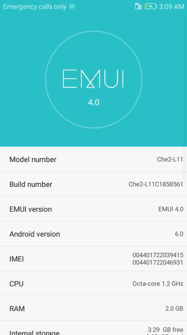 Huawei Honor 4X B561
