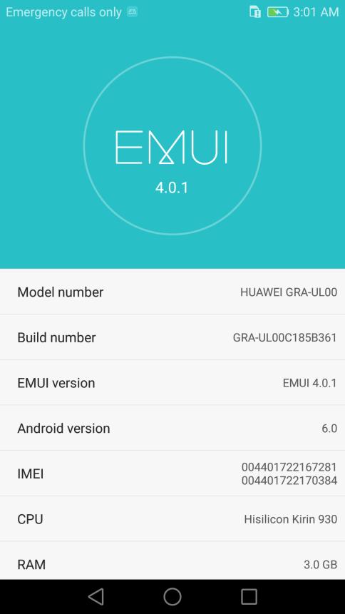 Huawei P8 B361